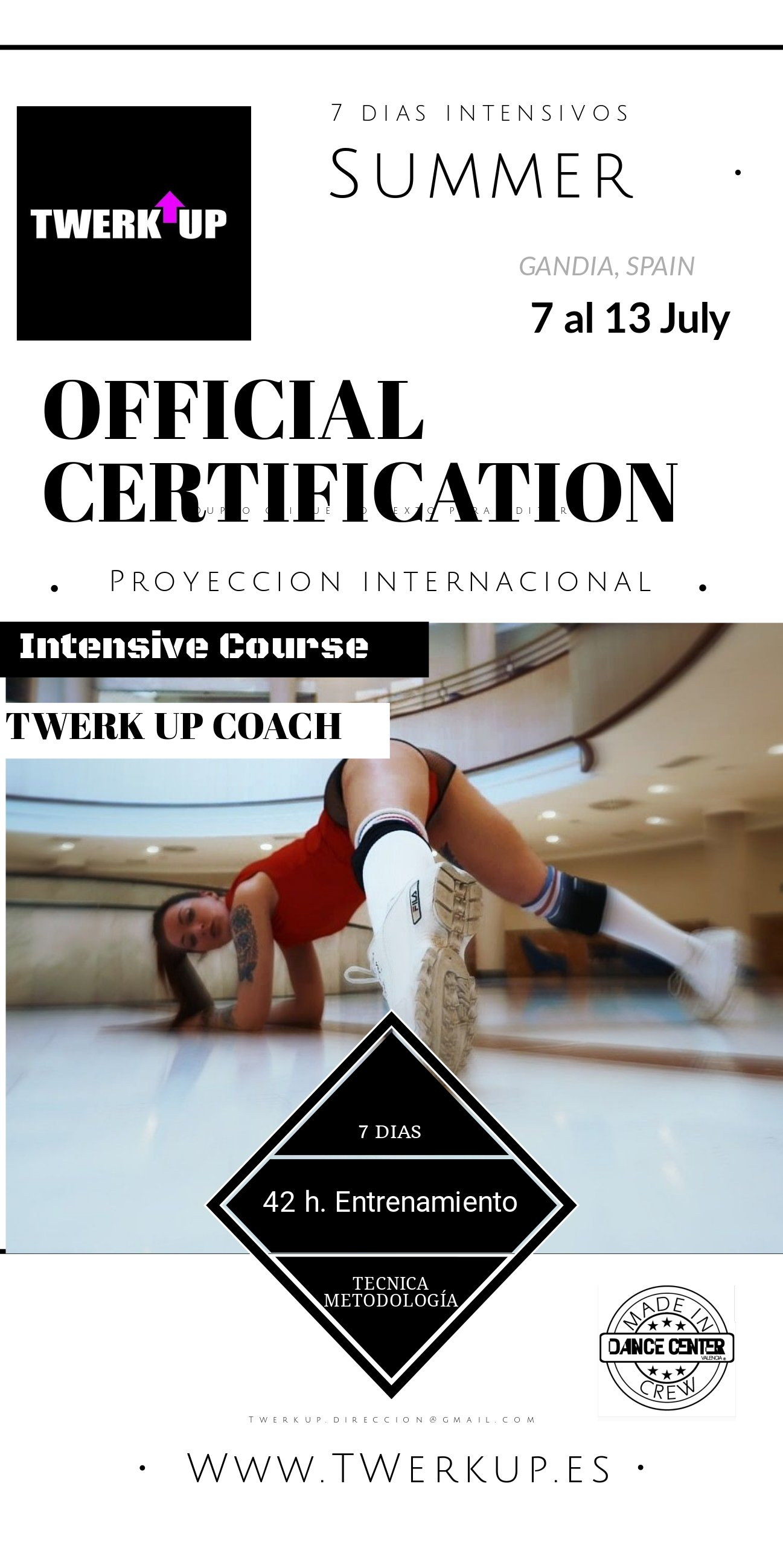 Official Certification